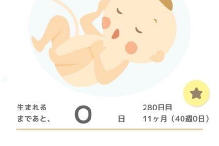 出産予定日、からの…