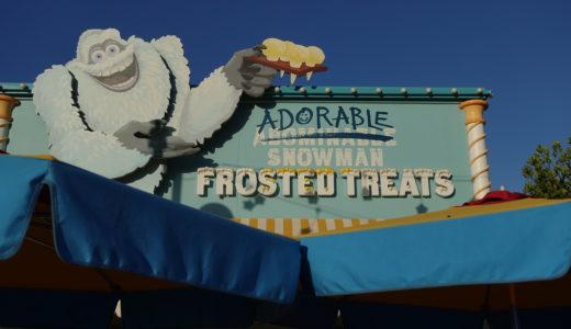 1歳児と行くDLR旅行記2018 Part35 スノーマンのお店でアイスクリームを食べよう!Adrable Snowman Frosted Treats!!